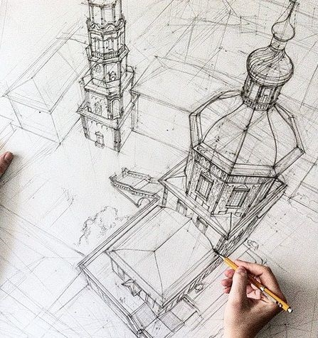 bdc7811c2f90fbad9b8be5a99e6c693b--sketch-architecture-hand-drawings